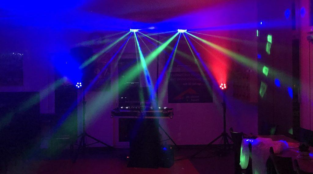Lichttechnik, LED, RCF Tonanlage